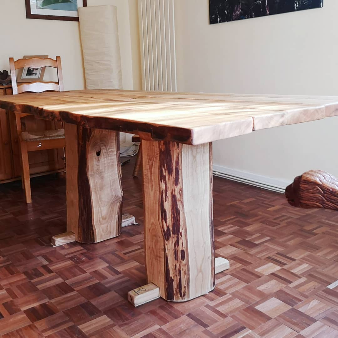 bespoke live edge dining room table furniture